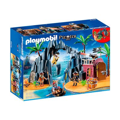 Playmobil - Pirates - Ilha do Tesouro Pirata - 6679 - Sunny
