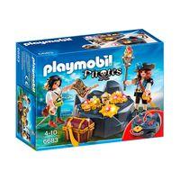 Playmobil---Pirates---Pedra-Esconderijo-do-Tesouro---6683---Sunny