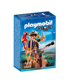 Playmobil---Pirates---Capitao-Pirata-com-Canhao---6684---Sunny