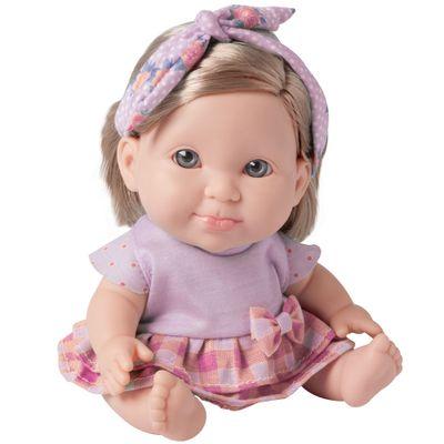 Boneca Bebê - Betsy Doll - Um dia no Pediatra - Rosa - Candide