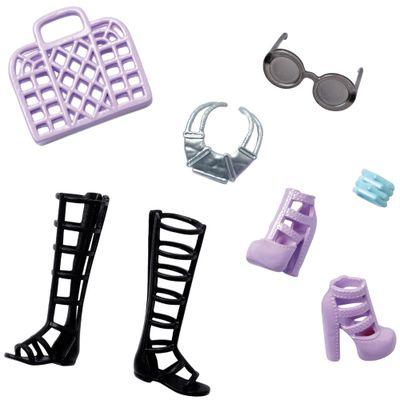 Acessórios Barbie - Bolsas e Sapatos - Série 11 - Mattel