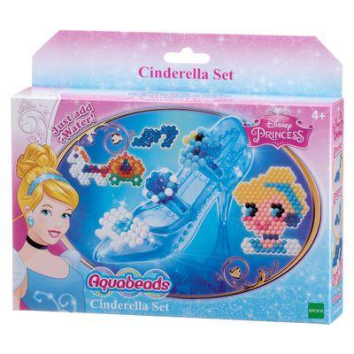 Conjunto Aquabeads - Princesas Disney - Cinderela - Epoch