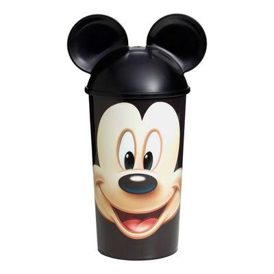 Copo com Tampa e Canudo - Mickey Mouse - Disney