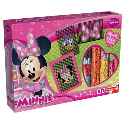 Conjunto de Artes - Disney Pixel Kit - Minnie Mouse - New Toys