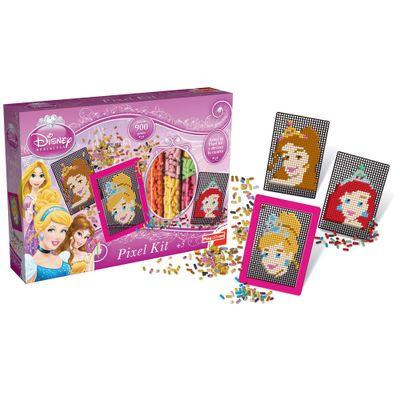 Conjunto de Artes - Disney Pixel Kit - Princesas - New Toys