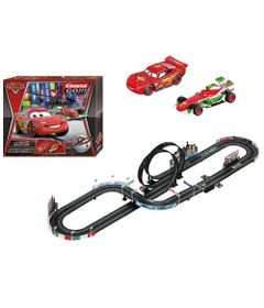 Autorama-com-Looping-Duplo---Carrera-Go---Disney---Carros---New-Toys