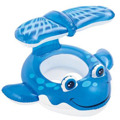 Fluturador Infantil com Protetor - Baleia Azul - New Toys