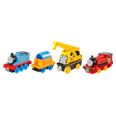 Conjunto com 04 Locomotivas - Viagem com o Thomas - Thomas & Friends - Fisher-Price