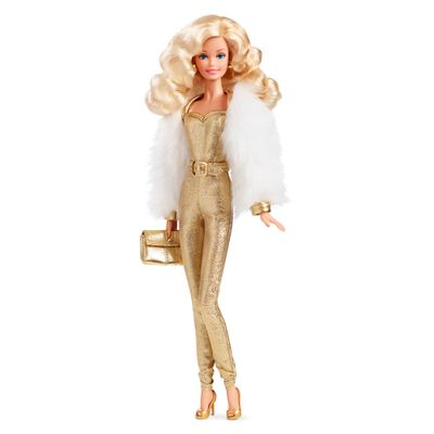 Boneca Barbie Colecionável - Golden Dreams - Mattel
