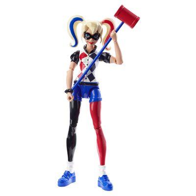 Boneca de Ação - 15 cm - DC Super Hero Girls - Harley Quinn - Mattel