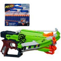 Kit-Nerf---Lancador-Zombie-Strike---Crossfire---Refil-12-Dardos-de-Succao---Hasbro