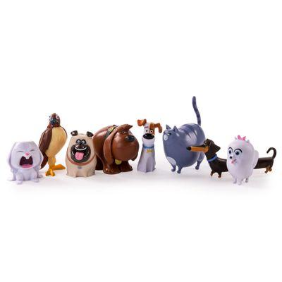 Pack 8 Figuras - 10 cm - Pets - A Vida Secreta dos Bichos - Sunny