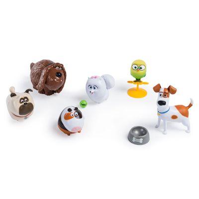 Pack 6 Figuras - 10 cm - Pets - A Vida Secreta dos Bichos - Sunny