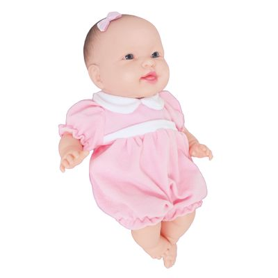 Boneca - Cheirinho de Bebê - 39 cm - Vestido Rosa - Cotiplás