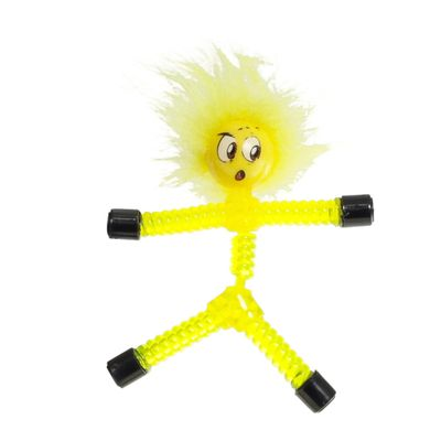 Mini Figura Magnética - Magno Z - Amarela - Téo - DTC