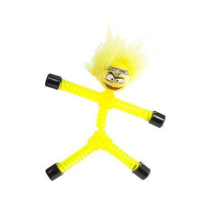Mini Figura Magnética - Magno Z - Amarela - Tina - DTC