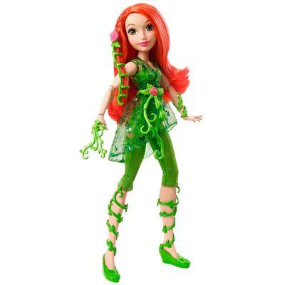 Boneco Dc Super Hero Girls Poison Ivy Mattel
