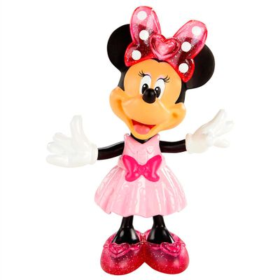 Mickey Mouse Clubhouse - Minnie Fashion Com Gliter - Mattel - Disney