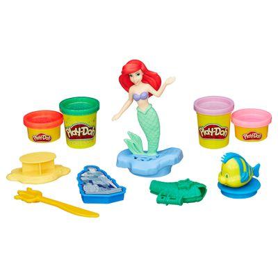 Massa de Modelar com Figura - Play-Doh - Princesas Disney - Ariel - Hasbro