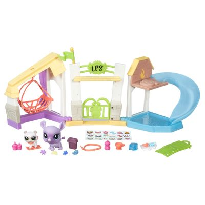 Playset Littlest Pet Shop - Retiro para Pets - Hasbro