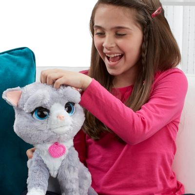 Pelúcia Interativa - Fur Real Friends - Gatinha Bootsie - Hasbro