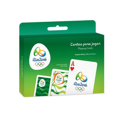 Jogo-de-Cartas---Baralho-Ilustrativo---Olimpiadas-Rio-2016---Verde---Copag