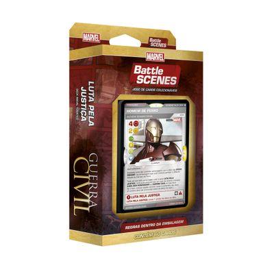 Deck Battle Scenes - Marvel - Capitão América: Guerra Civil - Iron Man - Copag