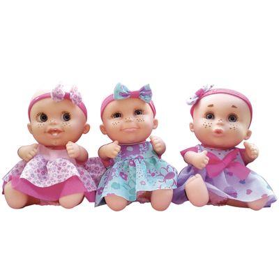 Bonecas Bebê - Babies Expressões Trigêmeas - Candide