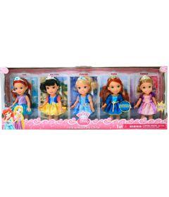 Conjunto-de-Bonecas---Disney-Mini-Princesas---New-Toys
