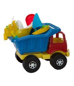Carrinho-de-Praia---Super-Truck-com-Acessorios---Vermelho-e-Azul---Monte-Libano