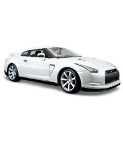 Carro-Nissan-GT-R-2009---Special-Edition---1-24---Prata---Maisto