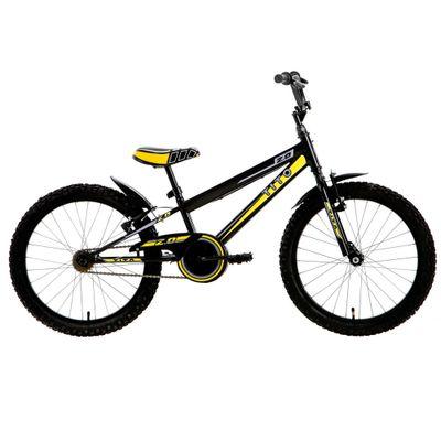 Bicicleta ARO 20 - MTB Volt 2.0 - Preta e Amarela - Tito Bikes