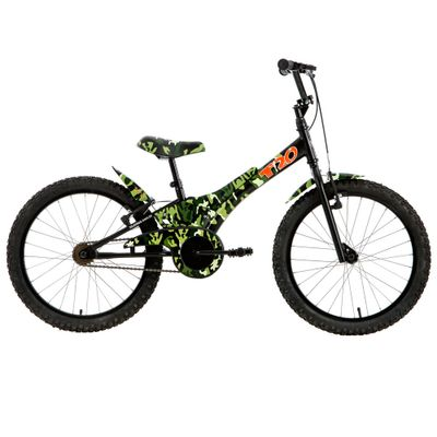 Bicicleta ARO 20 - Camuflada - Verde - Tito Bikes