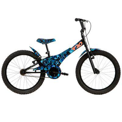 Bicicleta ARO 20 - Camuflada - Azul - Tito Bikes