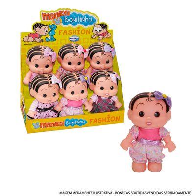 Mini-Boneca---Turma-da-Monica---Colecao-Fashion---Monica-Bonitinha---Multibrink