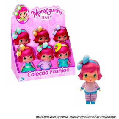 Boneca de Vinil - Moranguinho - Coleção Fashion - Moranguinho Baby - Multibrink