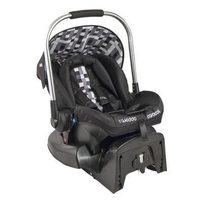 Bebê Conforto - De 0 a 13 kg - Caracol Pixel Preto para Carrinho Eclipse - Kiddo