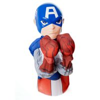 Figura-de-Acao---20-cm---Hero-Fighters---Marvel---Avengers---Era-de-Ultron---Capitao-America---Estrela