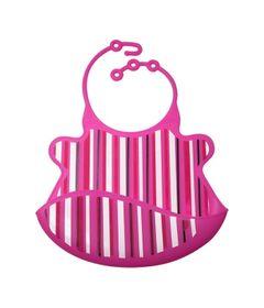 Babador-de-Silicone---Babamonster---Listras---Pink---Tinok