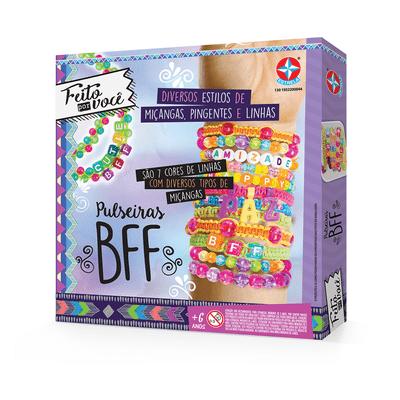 Conjunto de Personalização - Pulseiras BFF - Feito por Você - Estrela