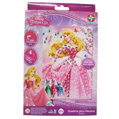 Conjunto de Artes e Atividades - Quadros Decorativos - Disney Princesas - Aurora - Estrela