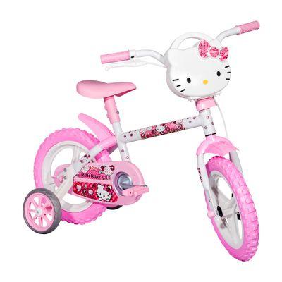Bicicleta Aro 12 - Hello Kitty - Styll Baby