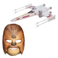 Kit-Mascara-Eletronica-Chewbacca-e-Nave-X-Wing-Fighter---Star-Wars-VII---Hasbro
