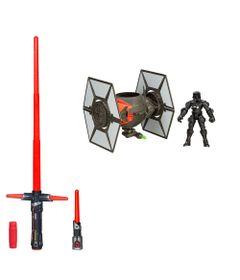 Kit-Sabre-de-Luz-Eletronico-Kylo-Ren-e-Boneco-Transformavel-com-Veiculo---Star-Wars---VII---Hasbro