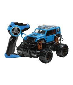 100126248-Carrinho-de-Controle-Remoto---Serie-Garagem-S-A---Raptor---Azul---Candide