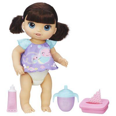 Boneca Baby Alive - Morena - Fralda Magica - Hasbro