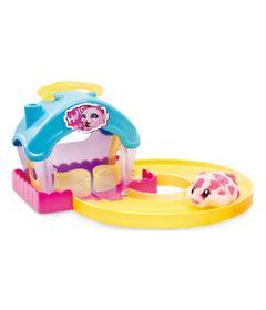 100124448-Playset-Casa-Hamster-com-Figura---Hamsters-in-a-House---Azul-e-Amarelo---Candide