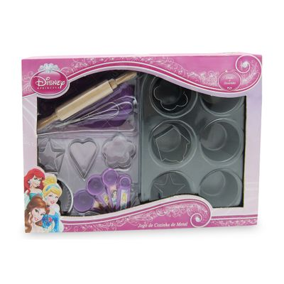 100121907-Jogo-de-Cozinha-Metal---Princesas-Disney---Toyng