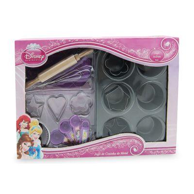 Jogo de Cozinha Metal - Princesas Disney - Toyng