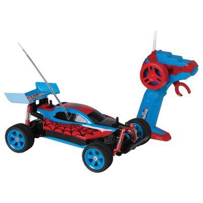 Carrinho de Controle Remoto - Spider Speed - Marvel - Spider-Man - Candide
